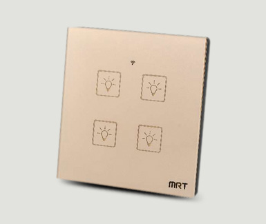Intelligent touch wifi switch
